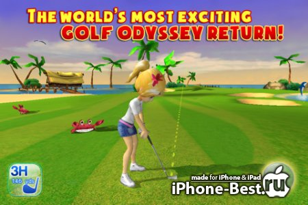 Let's Golf! 3 [1.0.7] [Gameloft] [RUS] [ipa/iPhone/iPod Touch/iPad]
