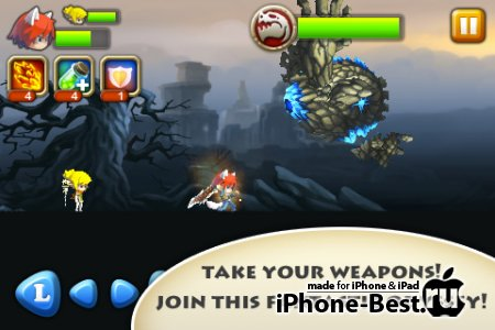 Pocket Warriors [1.1] [ipa/iPhone/iPod Touch]