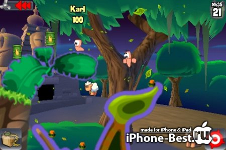 WORMS [2.0.7] [ipa/iPhone/iPod Touch]