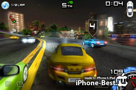 Race illegal: High Speed 3D [1.2.3] [ipa/iPhone/iPod Touch/iPad]