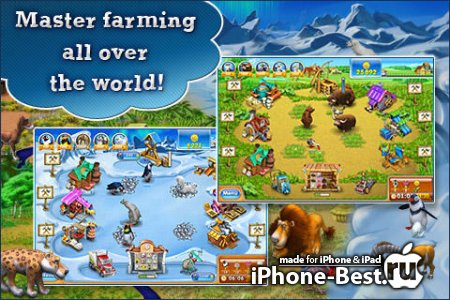Farm Frenzy 3 [1.1] [ipa/iPhone/iPod Touch]