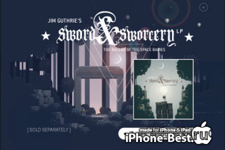 Superbrothers: Sword & Sworcery EP [1.11] [ipa/iPhone/iPod Touch/iPad]