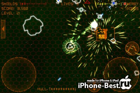 Alien Space Retro [2.3] [ipa/iPhone/iPod Touch/iPad]