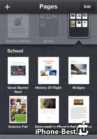 Pages [1.6.1] [ipa/iPhone/iPod Touch/iPad]