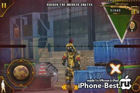 Modern Combat: Sandstorm [1.4.7] [ipa/iPhone/iPod Touch]