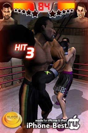 Iron Fist Boxing HD Edition [4.2.1] [ipa/iPhone/iPod Touch/iPad]