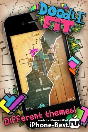 Doodle Fit [1.0.14] [ipa/iPhone/iPod Touch/iPad]