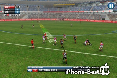 AFL: Gold Edition [1.0] [ipa/iPhone/iPod Touch/iPad]
