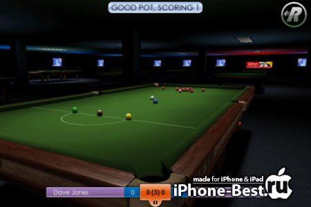 International Snooker 2012 [1.0] [ipa/iPhone/iPod Touch]