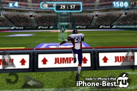 Backbreaker 2: Vengeance [1.3.0] [ipa/iPhone/iPod Touch]