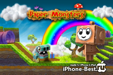 Paper Monsters [1.5.1] [ipa/iPhone/iPod Touch/iPad]