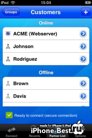 TeamViewer Pro [7.0.9607] [iPhone/iPad/iPod Touch]