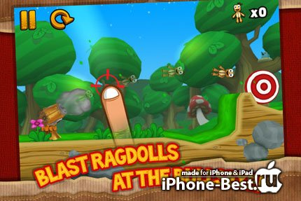 Ragdoll Blaster 3 [1.2.1] [ipa/iPhone/iPod Touch]