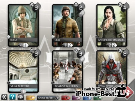 Assassin's Creed Recollection [1.9.10] [ipa/iPhone/iPod Touch/iPad]