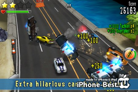 Reckless Getaway [1.0.6] [ipa/iPhone/iPod Touch/iPad]