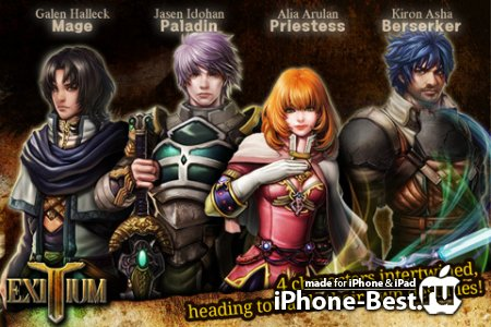 Exitium: Saviors of Vardonia [1.1.0] [ipa/iPhone/iPod Touch/iPad]