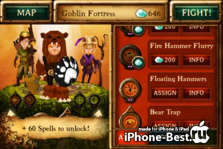 Kids vs Goblins 2 [1.0] [ipa/iPhone/iPod Touch/iPad]