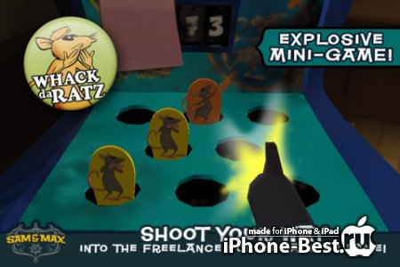 Sam & Max Beyond Time and Space Ep 5 [1.0] [ipa/iPhone/iPod Touch/iPad]