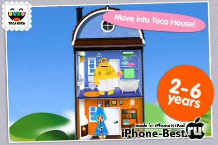 Toca House [1.0.3] [ipa/iPhone/iPod Touch/iPad]