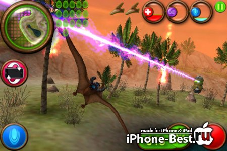 Nanosaur 2 [4.3] [ipa/iPhone/iPod Touch/iPad]