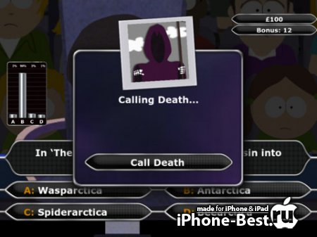 South Park - Who Wants To Be A Millionaire? Special Edition [1.0] [ipa/iPhone/iPod Touch/iPad]