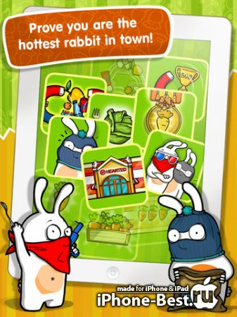 Robber Rabbits! HD [1.3.1] [ipa/iPad]