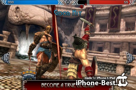 Blood and Glory Legend [0.1.0] [ipa/iPhone/iPod Touch/iPad]