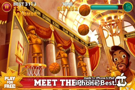 Slam Dunk King [1.4.1] [ipa/iPhone/iPod Touch/iPad]