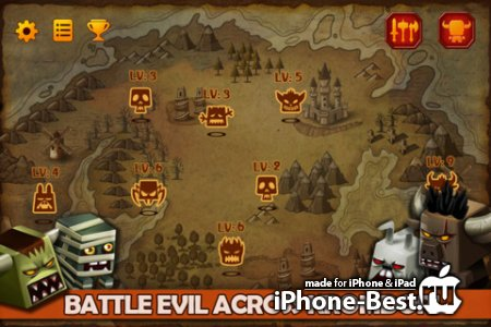 TinyLegends - Crazy Knight [2.8.4] [ipa/iPhone/iPod Touch/iPad]
