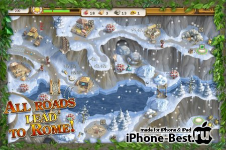 Roads of Rome 2 [1.04] [ipa/iPhone/iPod Touch/iPad]