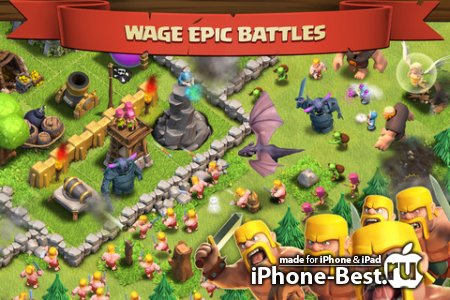 Clash of Clans [6.108.3] [ipa/iPhone/iPod Touch/iPad]