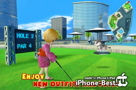 Let's Golf! 3 [1.1.0] [ipa/iPhone/iPod Touch/iPad]