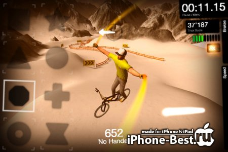 DMBX 2 – Mountain Bike and BMX [1.1.0] [ipa/iPhone/iPod Touch/iPad]