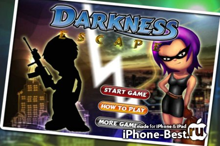 Darkness Escape Deluxe [1.1] [ipa/iPhone/iPod Touch]