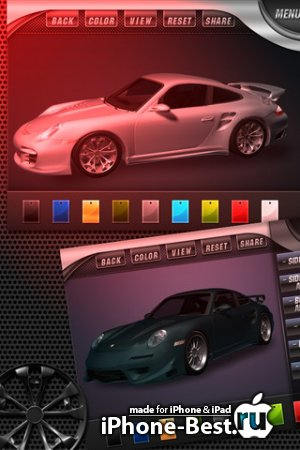 Pimp Your Ride GT – Customize Car Wheel Rims, Body Kit / Artwork Design, Hood, Bumper, Spoilers and more! [1.0] [ipa/iPhone/iPod Touch/iPad]