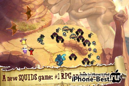 Squids Wild West [1.3.1] [ipa/iPhone/iPod Touch/iPad]