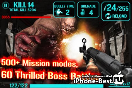 GUN ZOMBIE : HELL GATE [1.2] [ipa/iPhone/iPod Touch/iPad]