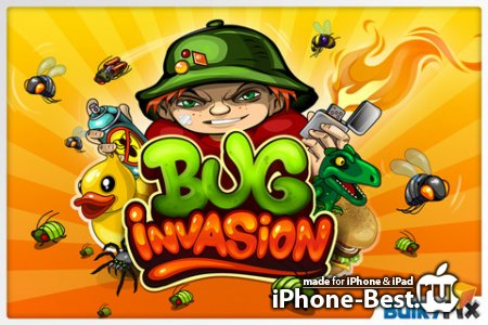 Bug Invasion [1.0] [ipa/iPhone/iPod Touch/iPad]