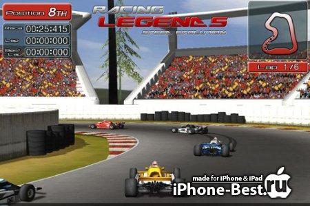 Racing Legendsv [1.11] [ipa/iPhone/iPod Touch/iPad]