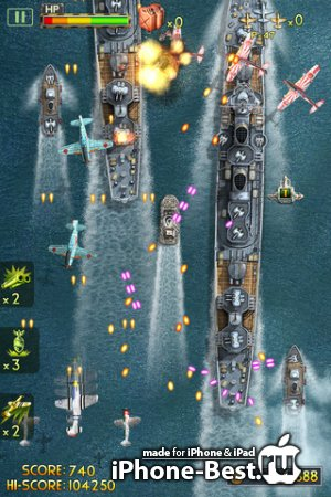 iFighter 2: The Pacific 1942 by EpicForce [1.5] [ipa/iPhone/iPod Touch/iPad]