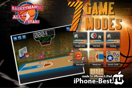 Basketmania All Stars [1.0] [iPhone/iPod Touch/iPad]