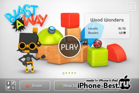 Blast-A-Way [1.0.1] [ipa/iPhone/iPod Touch/iPad]