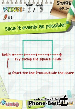 Slice It! v1.8.2 [ipa/iPhone/iPod Touch/iPad]