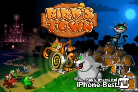 Bird's Town Deluxe [2.0] [ipa/iPhone/iPod Touch]