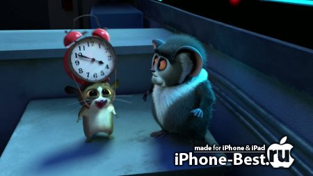 Мадагаскар 3 / Madagascar 3: Europe's Most Wanted [2012/HDRip/iPhone/iPod Touch/iPad]