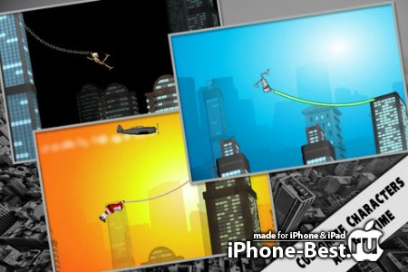 Rope'n'Fly 3 - From Dusk Till Dawn [2.0] [ipa/iPhone/iPod Touch/iPad]
