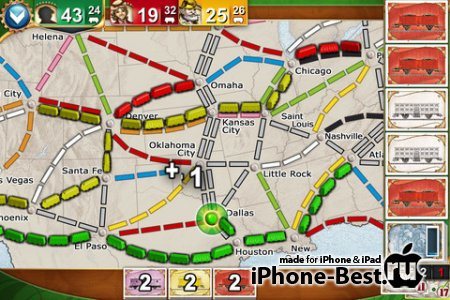 Ticket to Ride Pocket [1.2] [ipa/iPhone/iPod Touch]