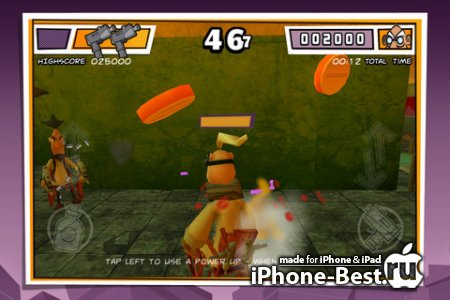 Wheelchair Warriors - 3D Battle Arena [1.3] [ipa/iPhone/iPod Touch/iPad]