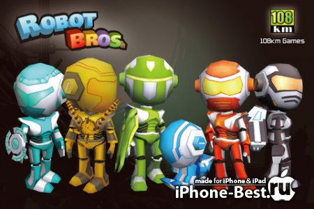 Robot Bros [1.32] [ipa/iPhone/iPod Touch/iPad]