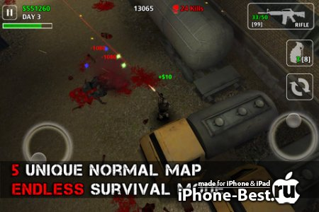 Z.I.D 2 : ZOMBIES IN DARK 2 [1.1] [ipa/iPhone/iPod Touch]